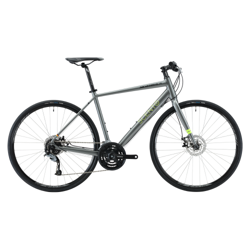 ROWER SILVERBACK SCENTO 2, GREY/LIME