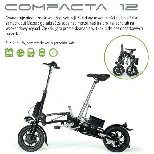 ROWER ELEKTRYCZNY TRYBECO COMPACTA 12',