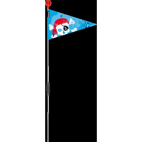 PUKY SW3 FLAGA SAFETY DO ROWERKA, NIEBIESKA