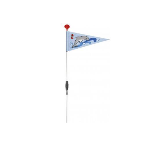 FLAGA PUKY DO ROWERKA SW 3 NIEBIESKA