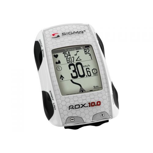 LICZNIK SIGMA ROX 10.0 GPS WHITE SET E 01001..
