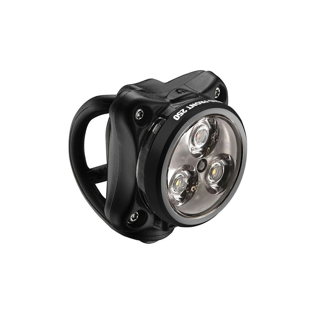 LAMPKA LEZYNE ZECTO DRIVE, 250 L, USB, CZARNA