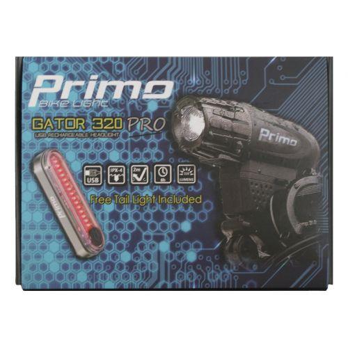ZESTAW LAMPEK 1P LED GATOR 320 PRO + F71 USB