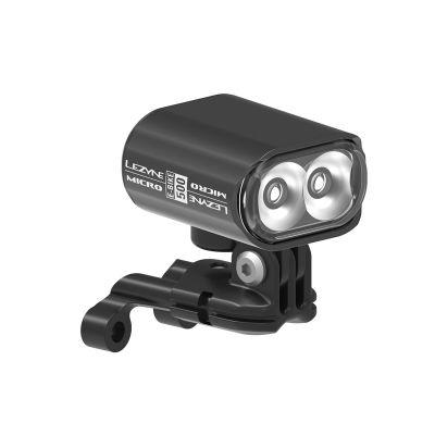 LAMPKA LEZYNE MICRO DRIVE EBIKE 500 L, USB, CZARNA