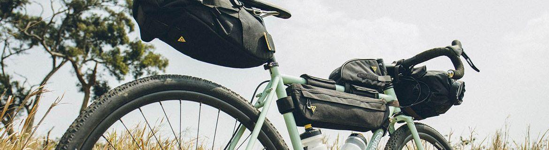 Kosze, sakwy i torebki rowerowe: lekkie i pakowne – sklep
