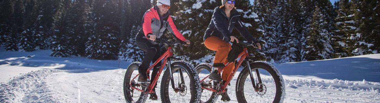 Rowery fatbike do jazdy w górach - po śniegu i w błocie
