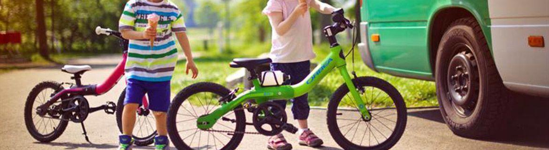 Rowery dla dzieci - do nauki jazdy i samodzielnego poruszania