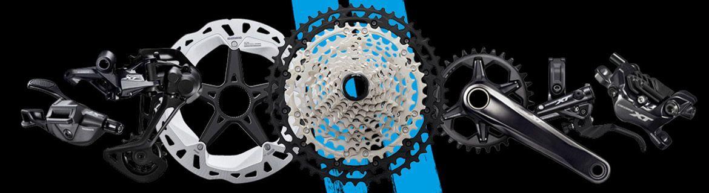 Części rowerowe do wszystkich typów rowerów - markowi producenci